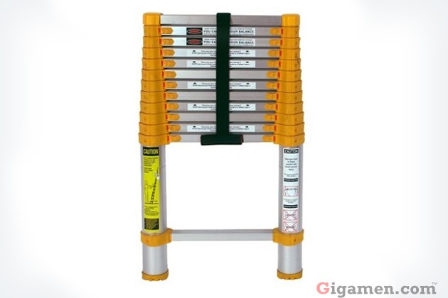 伸縮自在のハシゴ(Xtend & Climb Telescopic Ladder)