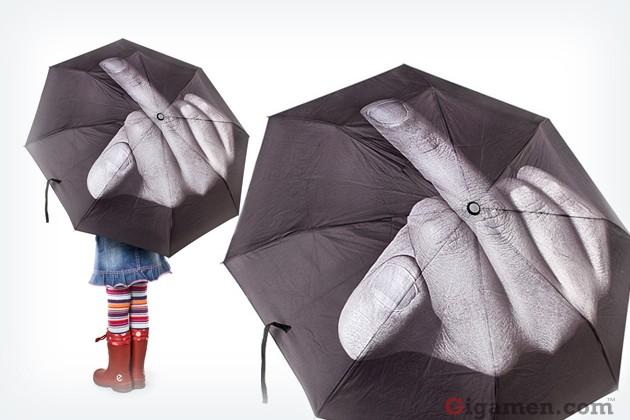 Fuck The Rain Umbrella 11