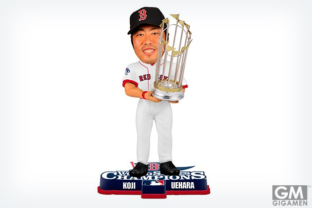 gigamen_Boston_Red_Sox_Koji_Uehara_2013_World_Series_Champions_Bobblehead_by_Forever_Collectibles