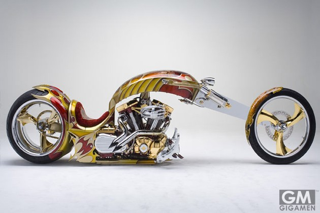 gigamen_Gold_Plated_Custom_Chopper