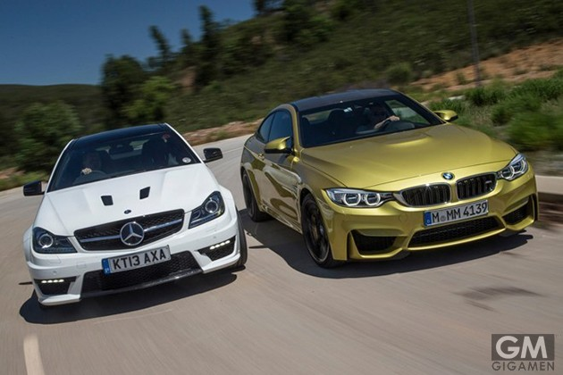 gigamen_BMW_M4_vs_Mercedes_Benz_C63_AMG
