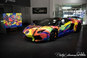 gigamen_Rainbow-Colored_Lamborghini