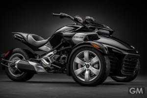 3輪バイクの究極型!Can-Am Spyder F3