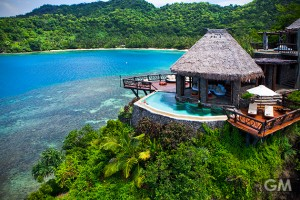 年末年始の休暇の計画は急いで!フィジー「Laucala島」