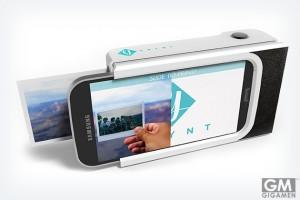 iPhoneをポラロイドカメラに変えるスマホケース「Prynt」