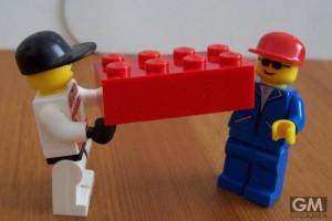大人に渡すとこうなった! レゴブロックの便利な使い道