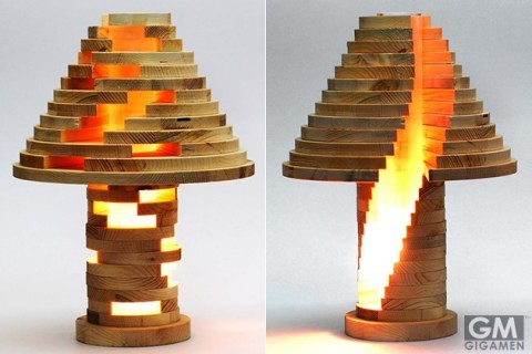 gigamen_DIY_Stacked_Lamp